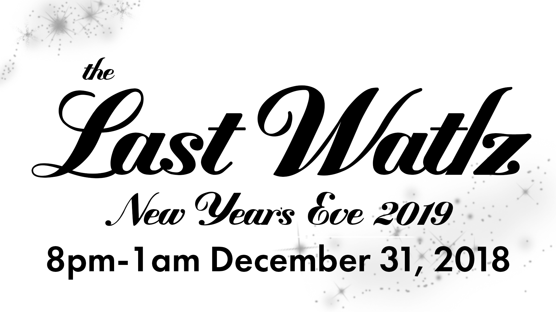 Burnt City Brewing New Year's Eve The Last Waltz