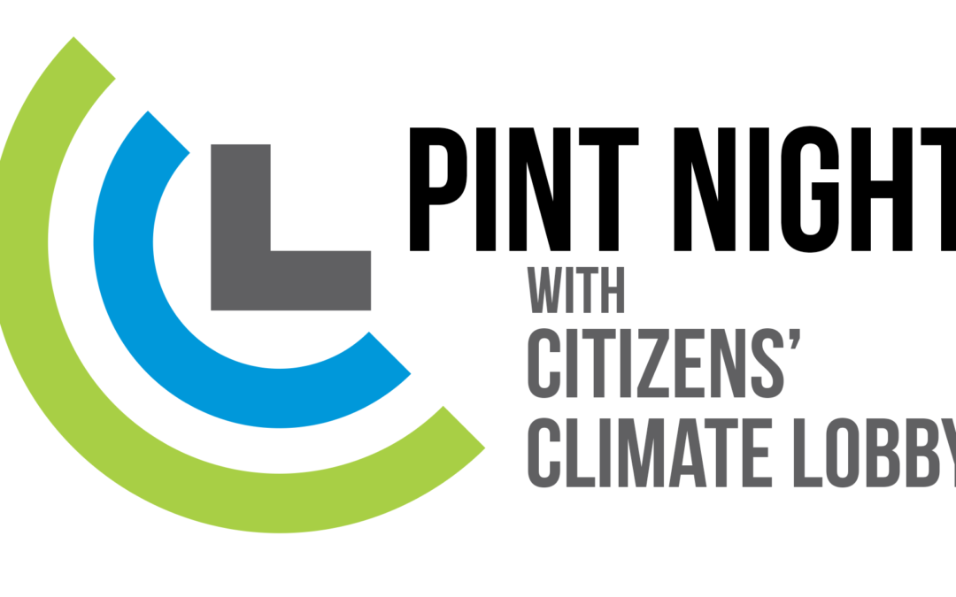 Pint Night with Citizens' Climate Lobby
