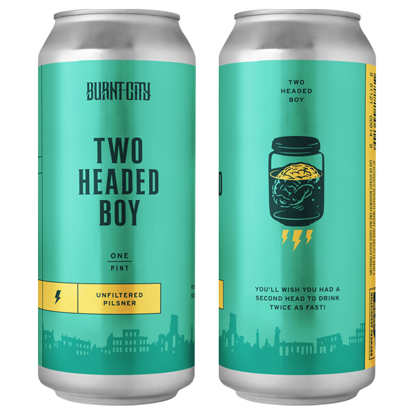 Burnt City Brewing Freight Handler Milk Stout can